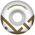 Ruedas Nomad: Crown Logo Gold (53 mm)