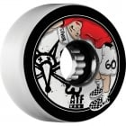 Ruedas Bones: ATF Kid White (60 mm)
