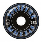 Ruedas Spitfire: Old English Black (53 mm)