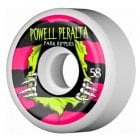 Ruedas Powell Peralta: Park Ripper White 2 PF (58mm)