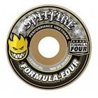 Ruedas Spitfire: F4 99 Conical Yellow Print (53 mm)