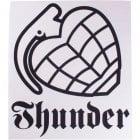 Thunder Trucks Pegatina Thunder: Logo WH/BK