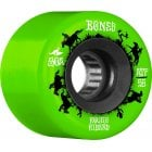 Ruedas Bones: Rough Rider Wranglers Green 80A (56mm)