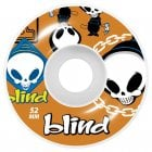 Ruedas Blind: Random Orange (52 mm)