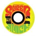 Ruedas OJ Wheels: Jamaican Sunrise Mini Super Juice 78A (55mm)