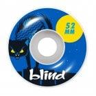 Ruedas Blind: Nine Lives Blue 99A (52 mm)