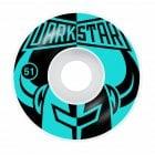 Ruedas Darkstar: Divide Black/Aqua 99A (51 mm)