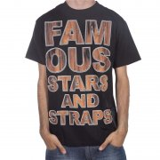 Famous Stars and Straps Camiseta Famous Stars&Straps: Rosewood Type BK