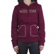 Sudadera Chica Zoo York: Repeat PP/GR