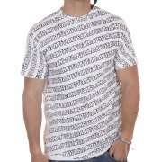 Famous Stars and Straps Camiseta Famous: Cascade All Overprint WH