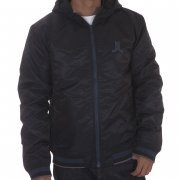 Cazadora WESC: We Eskil Hood W/O Back Patch Jacket BK