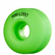 Mini Logo Skateboards Ruedas Mini-Logo Skateboards: C-Cut Green (53 mm)