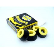 Almohadillas BDSkateCO: DCore Black/Yellow 90A