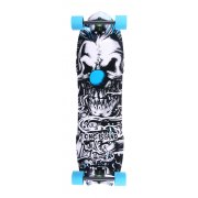 Longboard Completo Long Island Skateboard: 14A Klown 8 Plies