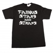 Famous Stars and Straps Camiseta Famous: SK8'n Dstry BK