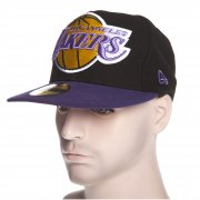 Gorra New Era: Mighty 2 Tone Los Angeles Lakers BK/PP