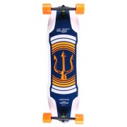 Longboard Completo Elixir: Neptune Orange Top Mount