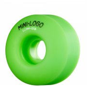 Mini Logo Skateboards Ruedas Mini-Logo Skateboards: C-Cut Green (52 mm)