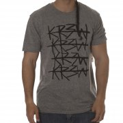 Camiseta Krew: Cross Out Grey Heather GR
