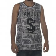 Camiseta de tirantes Famous Stars and Straps: Bank Roll GR