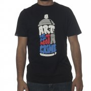 Camiseta Wrung: Art Crime BK