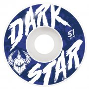 Ruedas Darkstar: Chalk White (51 mm)
