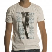Camiseta Quiksilver: Garment Dyed Tee Surf And Resi BG