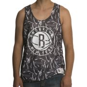 Mitchell & Ness Camiseta de tirantes Mitchell & Ness: NBA Reversible Mesh Tank Brooklyn Nets GR/WH
