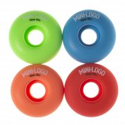 Mini Logo Skateboards Ruedas Mini-Logo Skateboards: C-Cut Militant Assorted (52 mm)