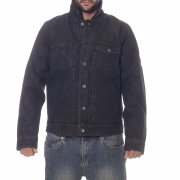Cazadora Volcom: Macback Denim Jacket BK