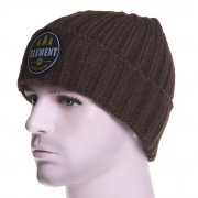 Gorro Element:  Counter Beanie Chocolate BR