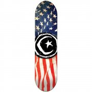 Tabla Foundation Skateboards: Star & Moon 'Merica 8.5
