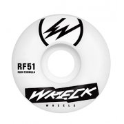 Wreck  Ruedas Wreck: Square Cut White (51 mm)