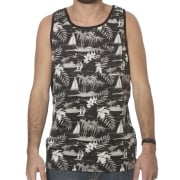 Camiseta Sin Mangas DC Shoes: Huntridge KVJ BK