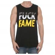 98e5e4b0410fa Camiseta sin mangas Grimey  Fuck Fame Tank Top BK ...