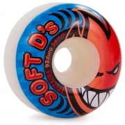 Ruedas Spitfire: Soft D'S 92 Du White (52 mm)