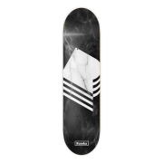 Rumba Skateboards Tabla Rumba Skateboarding: Marble Black 8.6