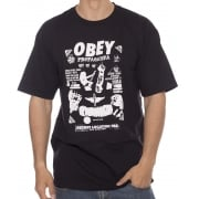 Camiseta Obey: Secret Location BK