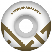 Ruedas Nomad: Crown Logo Gold (54 mm)