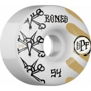 Ruedas Bones: SPF War Paint (54 mm)