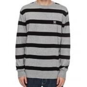 Jersey DC Shoes: Sabotage Stripe GR/BK