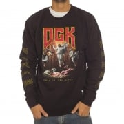 Sudadera DGK: Hail Crew Fleece BK