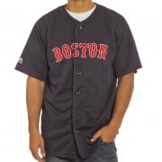 Camisa Majestic: MLB Replica Jersey Boston NV