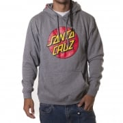 Sudadera Santa Cruz: Hood Classic Dot Dark Heather GR