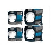 Set Protecciones DNA: Navy Knee & Elbow Pack NV