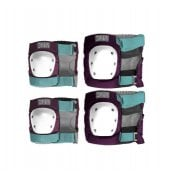 Set Protecciones DNA: Wine Knee & Elbow Pack PP