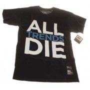 Camiseta DVS: All Trends Die BK