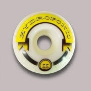 Ruedas Hydroponic: Premium Yellow (55 mm)