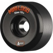 Mini Logo Skateboards Ruedas Mini-Logo Skateboards: A-Cut Black (56 mm / 101A)