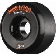 Mini Logo Skateboards Ruedas Mini-Logo Skateboards: A-Cut Black (54 mm / 101A)